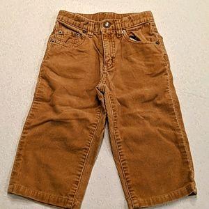BABY GAP tan corduroy pants
